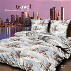 """Постельное белье Евро BRAVO Travel """"3818-1 Пиза"""""""