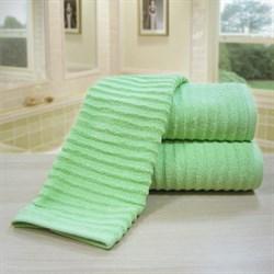 """Махровое полотенце """"Ласка"""" зел. 33x70 (Х)"""